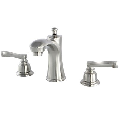 Royale Lavatory Faucet Double Handle Finish: Satin Nickel