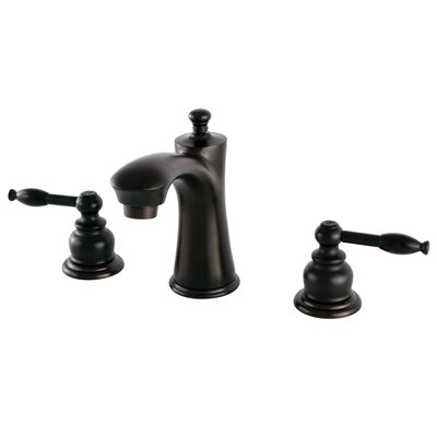 Knight Lavatory Faucet Double Handle Finish: Oil Rubbed Bronze