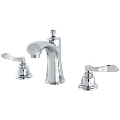 Nuwave French Lavatory Faucet Double Handle Finish: Chrome