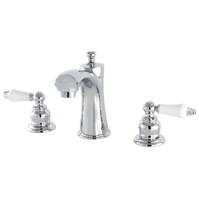 Victorian Lavatory Faucet Double Handle Finish: Chrome