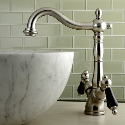 Duchess Double Handle Standard Bathroom Faucet Finish: Satin Nickel