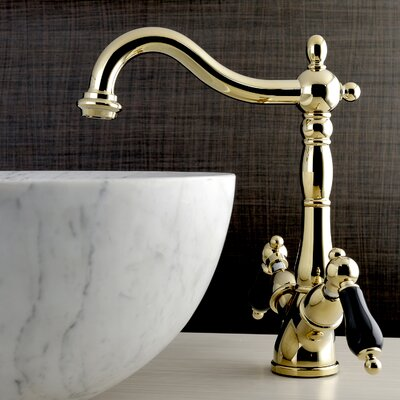 Duchess Double Handle Standard Bathroom Faucet Finish: Polished Brass