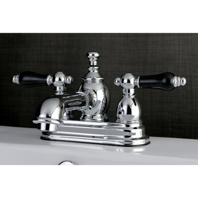 Duchess Double Handle Standard Centerset Bathroom Faucet with Drain Assembly Finish: Chrome