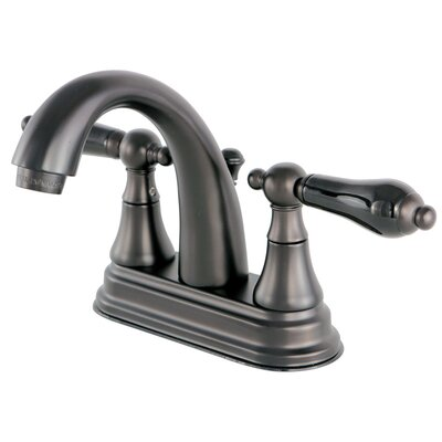 Duchess Double Handle Standard Centerset Bathroom Faucet with Drain Assembly Finish: Oil Rubbed Bronze
