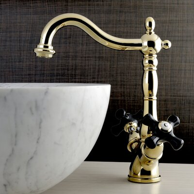 Duchess Vessel Faucet Single Handle Finish: Polished Brass