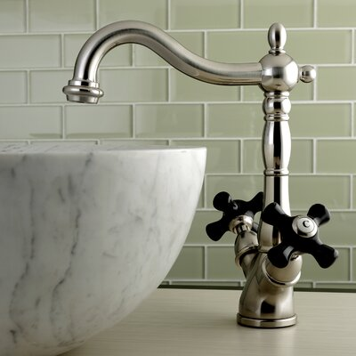 Duchess Vessel Faucet Single Handle Finish: Satin Nickel