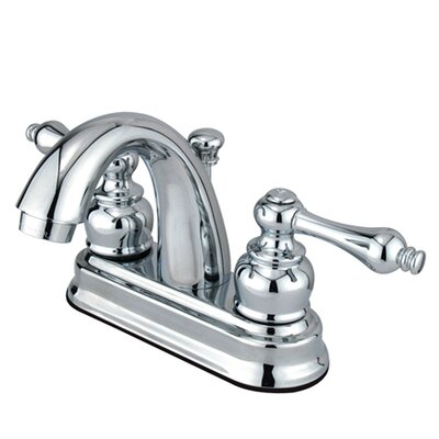 Restoration Centerset Bathroom Faucet with Pop-Up Drain Finish: Polished Chrome