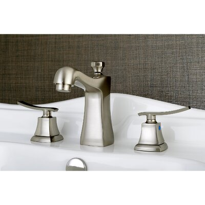 Queensbury Widespread Lavatory Faucet Finish: Satin Nickel
