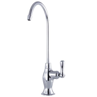 Restoration Single Handle Kitchen Faucet Finish: Chrome
