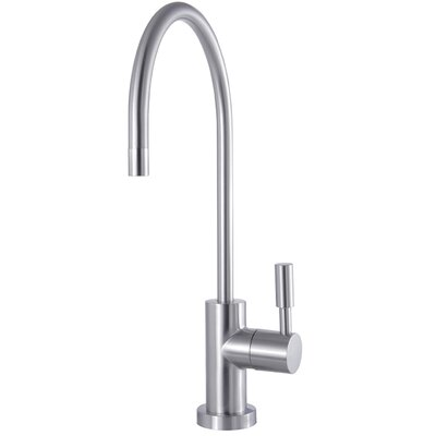 Concord Reverse Osmosis System Filtration Water Air Gap Single Handle Bar Faucet Finish: Satin Nickel