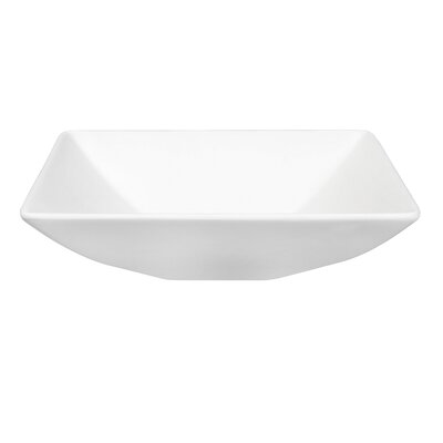 Fauceture Square Vessel Bathroom Sink
