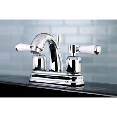 Paris Centerset Double Handle Bathroom Faucet with Drain Assembly Finish: Polished Chrome, Size: 5 H x 6 W x 3.63 D