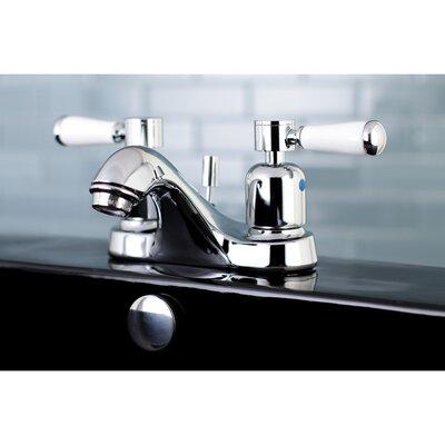 Paris Centerset Double Handle Bathroom Faucet with Drain Assembly Finish: Polished Chrome