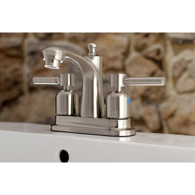 Concord Centerset Double Handle Bathroom Faucet with Drain Assembly