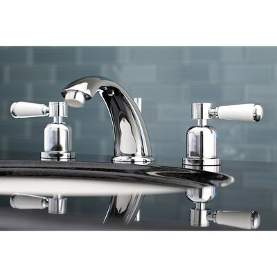 Paris Widespread Double Handle Bathroom Faucet with Drain Assembly Finish: Polished Chrome