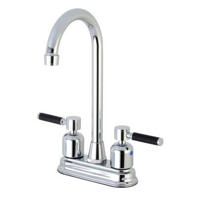 Kaiser Centerset High-Arch Spout Bar Faucet Finish: Polished Chrome