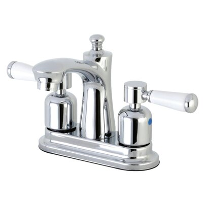 Paris Centerset Double Handle Bathroom Faucet with Drain Assembly Finish: Polished Chrome