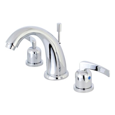 Centurion Widespread Double Handle Bathroom Faucet with Drain Assembly Finish: Polished Chrome
