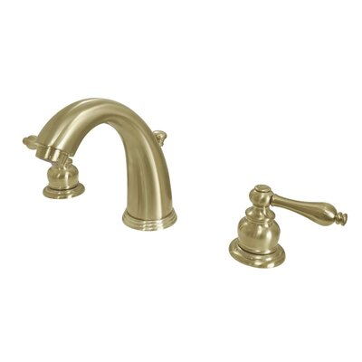 Victorian Widespread Double Handle Bathroom Faucet with Drain Assembly