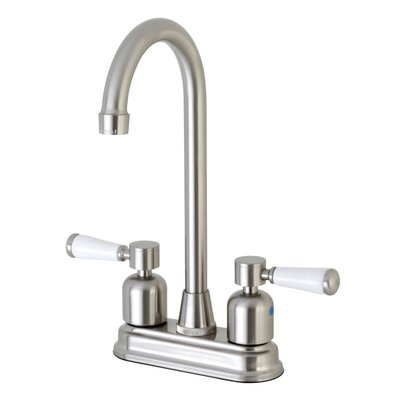 Paris Hot & Cold Water Dispenser Bar Faucet Finish: Satin Nickel