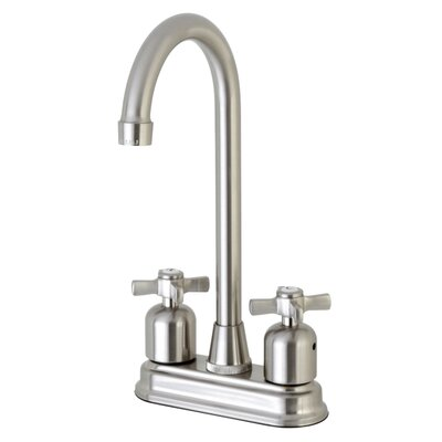 Millennium Hot & Cold Water Dispenser Bar Faucet Finish: Satin Nickel