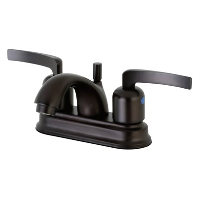 Centurion Centerset Double Handle Bathroom Faucet with Drain Assembly Finish: Oil Rubbed Bronze