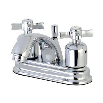 Millennium Centerset Double Handle Bathroom Faucet with Drain Assembly Finish: Polished Chrome