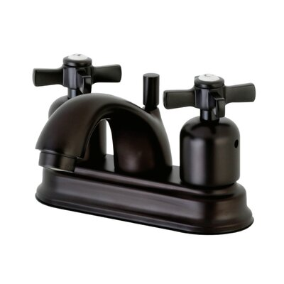 Millennium Centerset Double Handle Bathroom Faucet with Drain Assembly Finish: Oil Rubbed Bronze