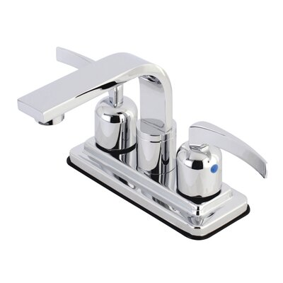 Centurion Centerset Double Handle Bathroom Faucet with Drain Assembly Finish: Polished Chrome