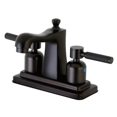 Kaiser Centerset Double Handle Bathroom Faucet with Drain Assembly Finish: Oil Rubbed Bronze