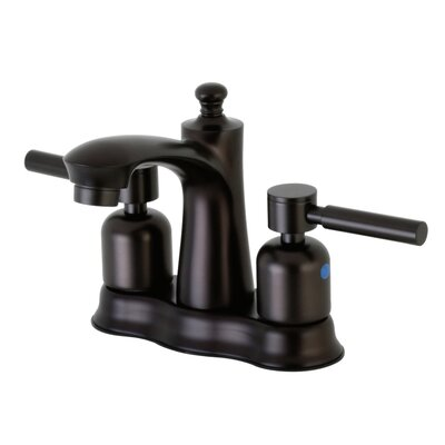 Concord Centerset Double Handle Bathroom Faucet with Drain Assembly Finish: Oil Rubbed Bronze