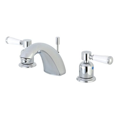 Paris Mini-Widespread Double Handle Bathroom Faucet with Drain Assembly Finish: Polished Chrome