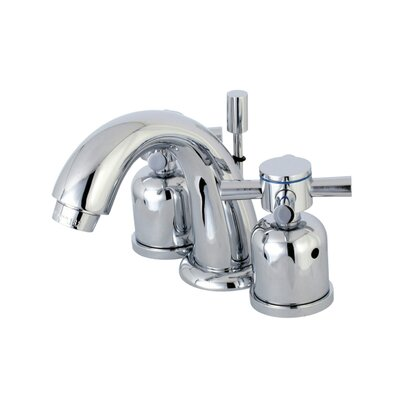 Concord Mini-Widespread Double Handle Bathroom Faucet with Drain Assembly Finish: Polished Chrome