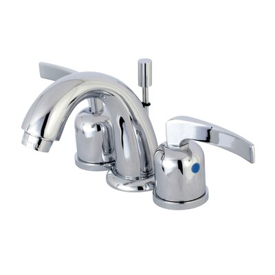 Centurion Mini-Widespread Double Handle Bathroom Faucet with Drain Assembly Finish: Polished Chrome