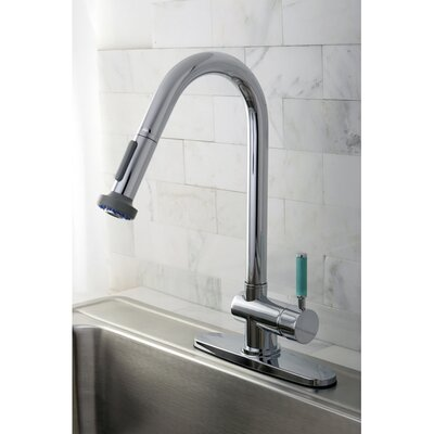 Green Eden Single Lever Handle Kitchen Faucet with Spring spout
