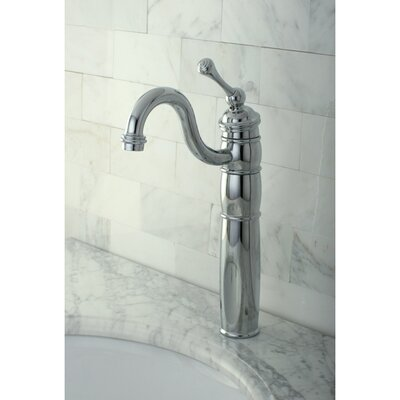 Heritage Single Handle Vessel Sink Faucet Finish: Polished Chrome