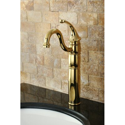 Georgian Single Handle Vessel Sink Faucet Finish: Polished Brass