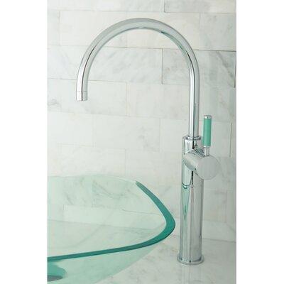 Green Eden Single Handle Vessel Sink Faucet Finish: Polished Chrome
