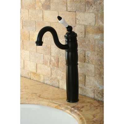 Heritage Single Handle Vessel Sink Faucet Finish: Oil Rubbed Bronze