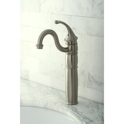 Georgian Single Handle Vessel Sink Faucet Finish: Satin Nickel