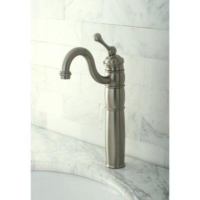 Heritage Single Handle Vessel Sink Faucet Finish: Satin Nickel