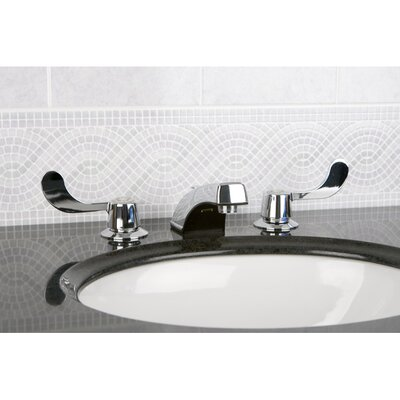 Vista Double Handle Widespread Bathroom Faucet with Brass Pop-Up Drain