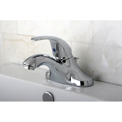 Legacy Single Handle Bathroom Faucet Finish: Polished Chrome, Optional Accessory: With ABS Pop-up
