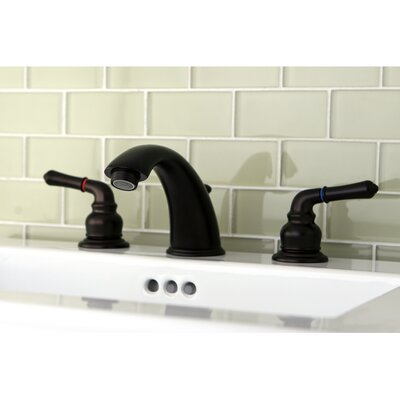 Magellan Double Handle Widespread Bathroom Faucet with ABS Pop-Up Drain Finish: Oil Rubbed Bronze