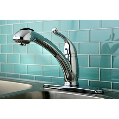 Yosemite Single Handle Centerset Kitchen Faucet Finish: Polished Chrome