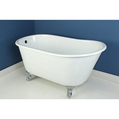 Aqua Eden Soaking Bathtub Finish: Chrome