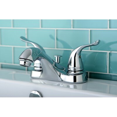 Yosemite Double Handle Centerset Bathroom Faucet Finish: Polished Chrome