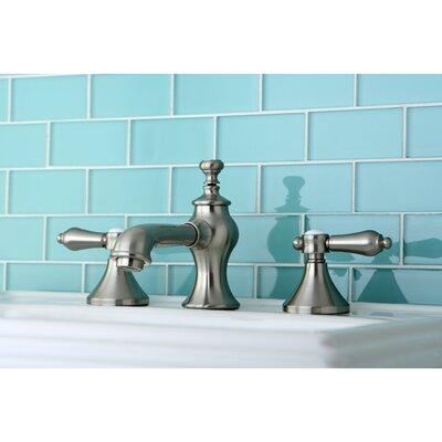 Bel Air Double Handle Widespread Bathroom Faucet with Pop-Up Drain Finish: Satin Nickel