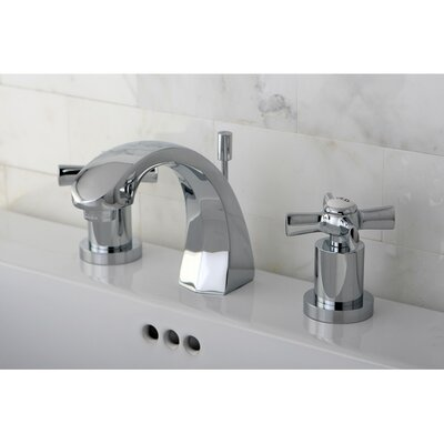 Millennium Double Handle Widespread Bathroom Faucet Finish: Polished Chrome