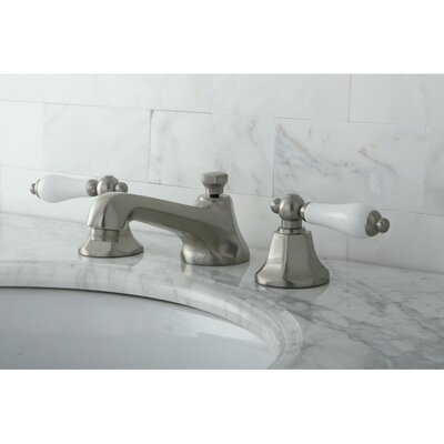 Metropolitan Double Handle Widespread Bathroom Faucet with Pop-Up Drain